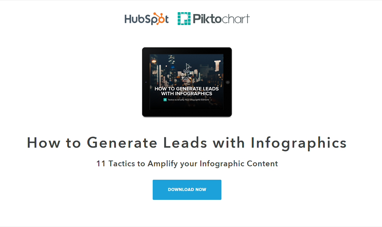 SaaS lead capture landing page example