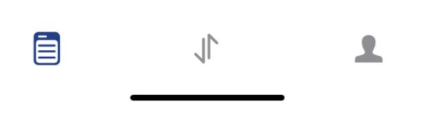 PayPal tab bar human-centered design