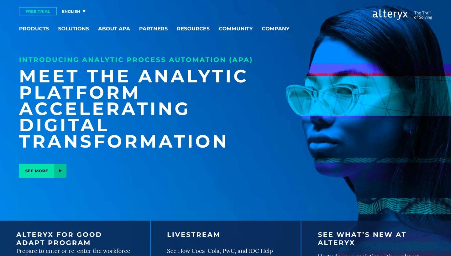 Alteryx is a leading B2B SaaS company