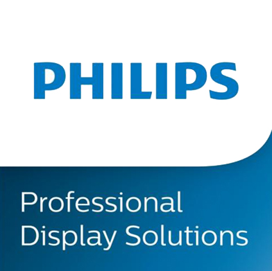 Logo de la marque Philips Professional Display Solutions