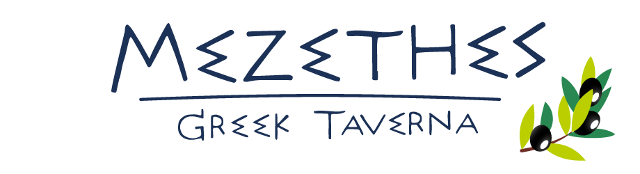 Mezethes greek taverna Logo