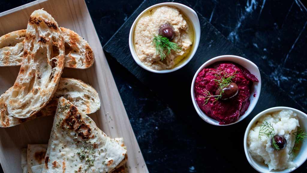 Mezethes Greek Taverna food deeps