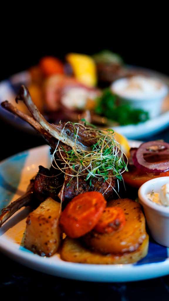 Mezethes Greek Taverna Lamb food