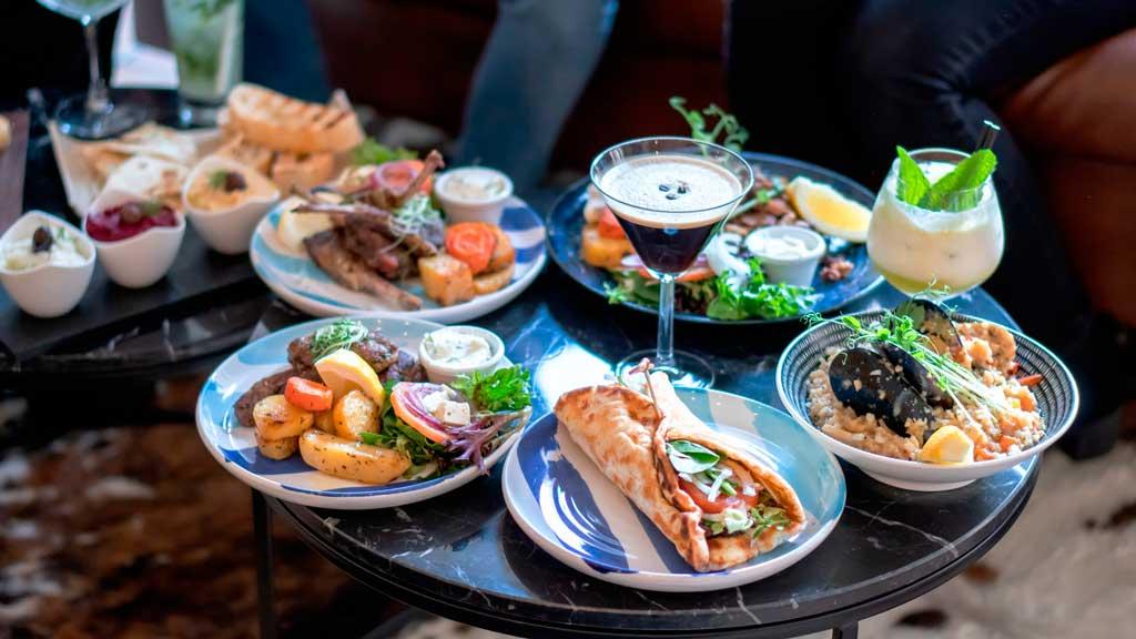 Mezethes Greek Taverna food 01