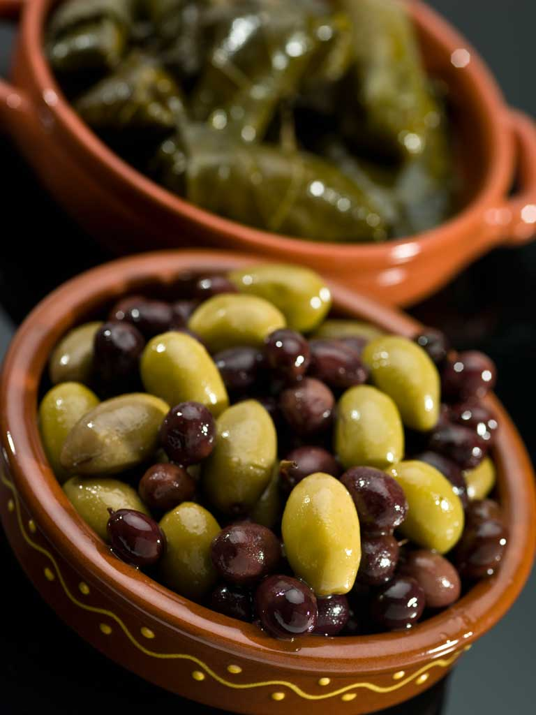 Mezethes Greek Taverna Olives
