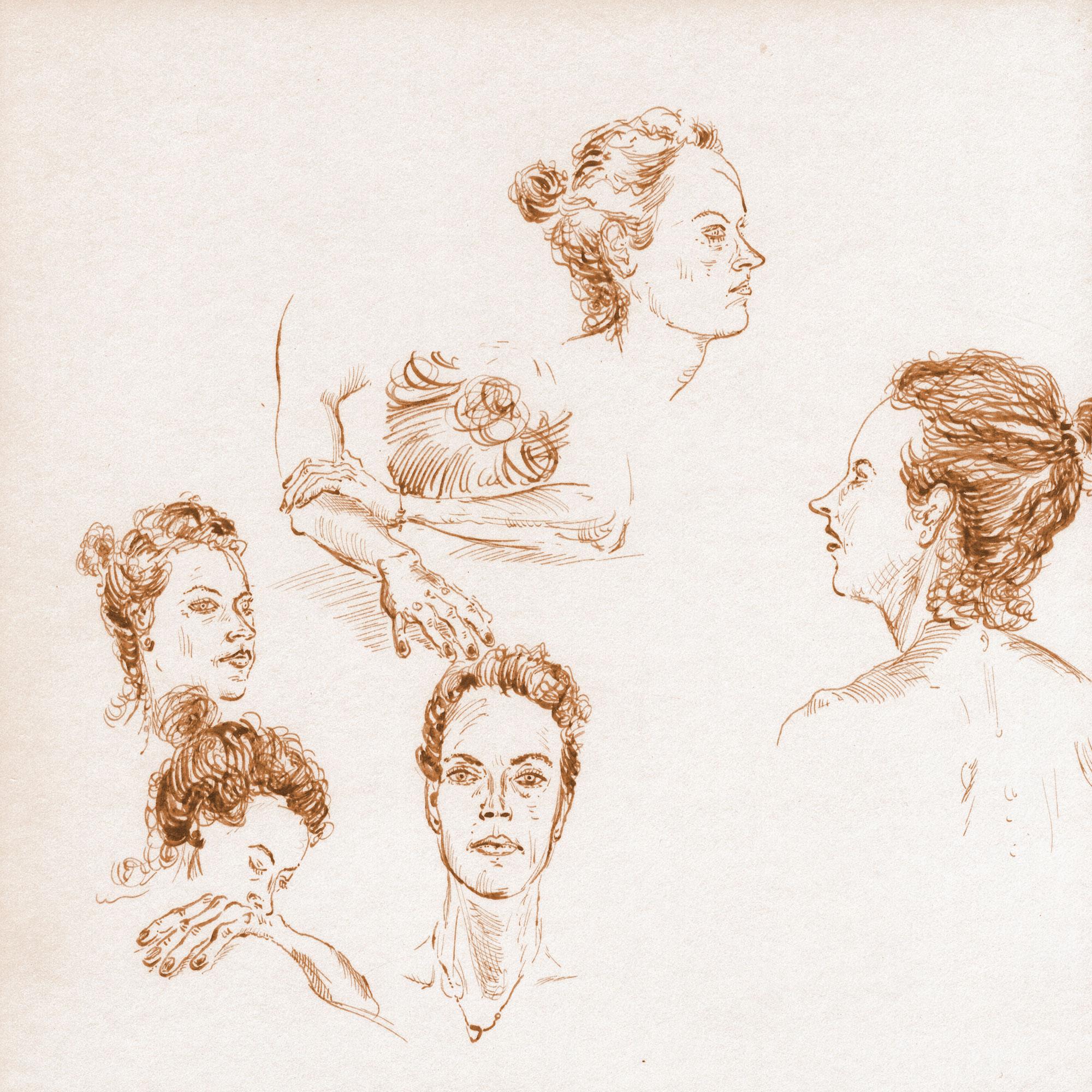 Heads Woman
