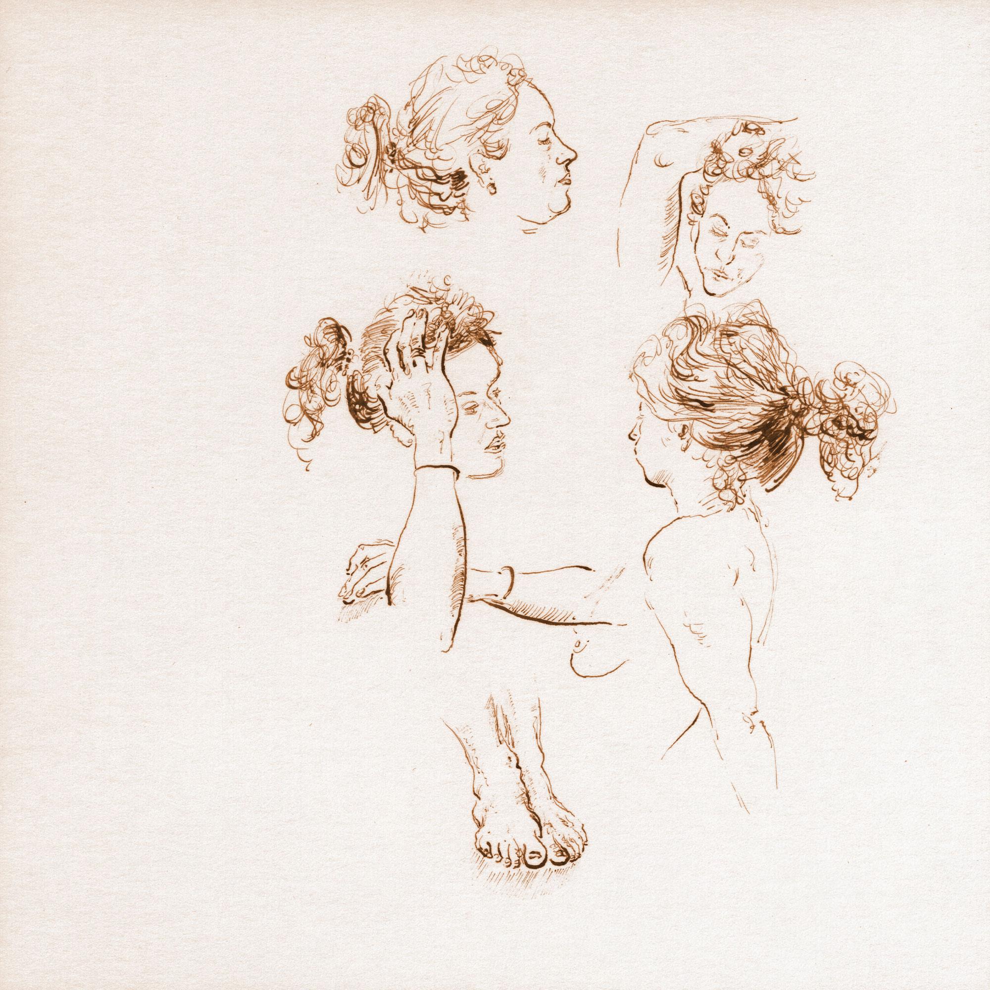 Sarah Lena head studies 1