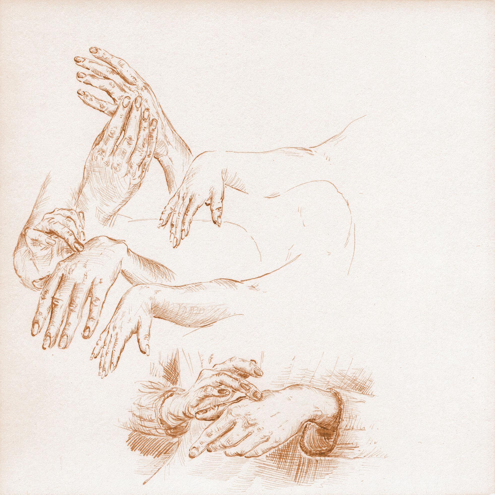 Hands in movement