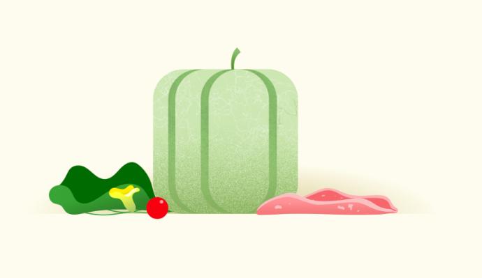 Illustration de melon