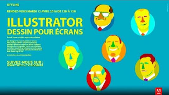 Couverture du podcast vidéo sur Adobe Illustrator