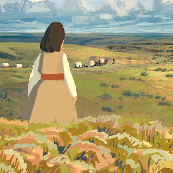 Image tirée du film de Rémi Chayé, Calamity
