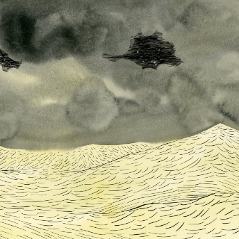 Image de tempête en mer d'Aude Picault