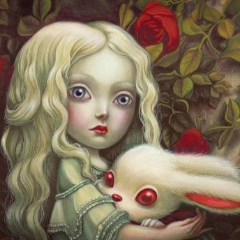 Image de Benjamin Lacombe avec Alice et son lapin
