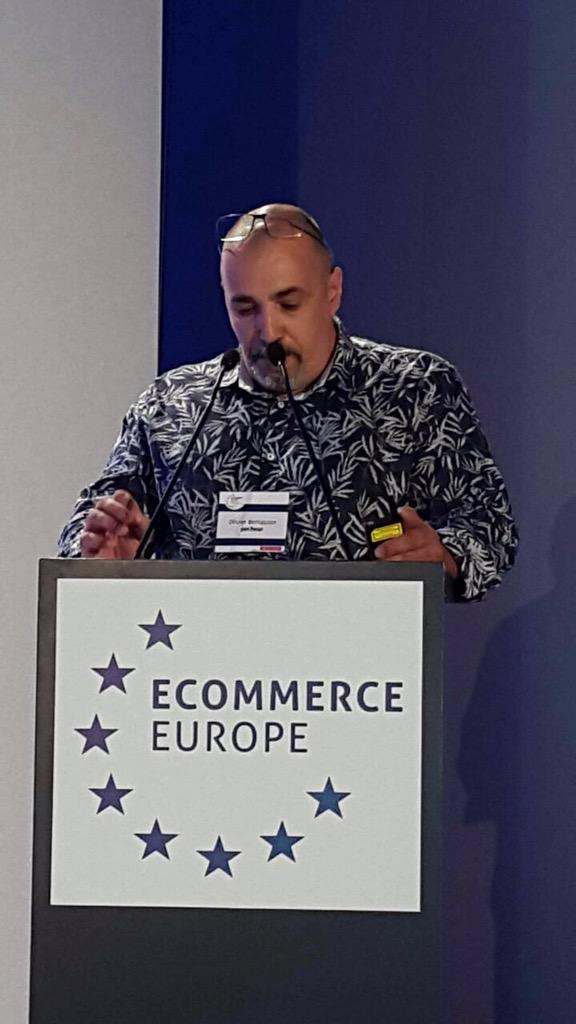 """Ecommerce Europe, """"The way forward for e-Logistics: Be part of the revolution!"""", Barcelone 2015"""