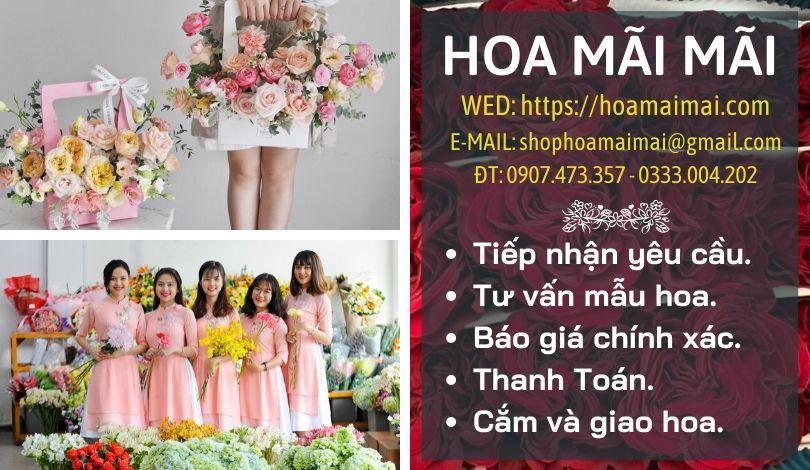 Đặt hoa sinh nhật ý nghĩa tại TPHCM