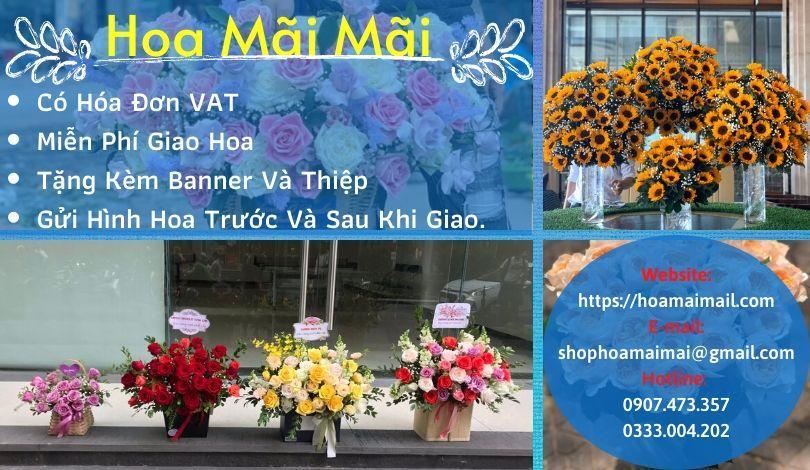 Tiệm hoa tươi chất lượng Quận 6