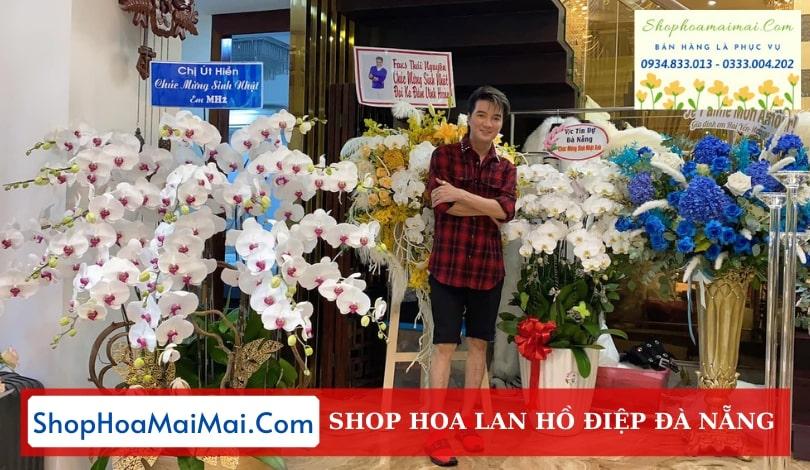 Tiệm hoa lan hồ điệp uy tín Đà Nẵng