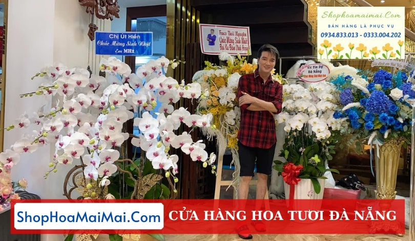 Mua hoa lan hồ điệp online Đà Nẵng