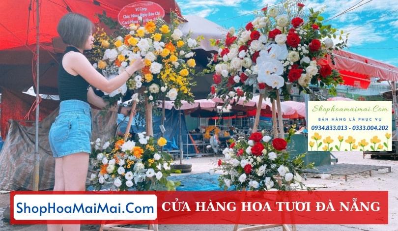 Cửa hàng hoa khai trương Đà Nẵng
