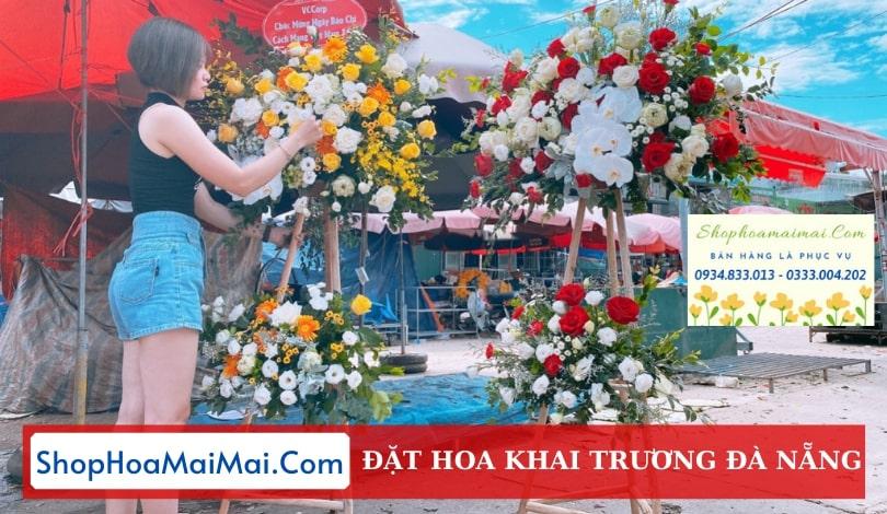 Tiệm hoa khai trương Đà Nẵng