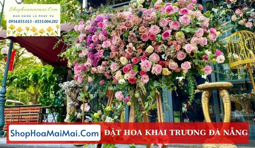 Shop hoa khai trương Đà Nẵng