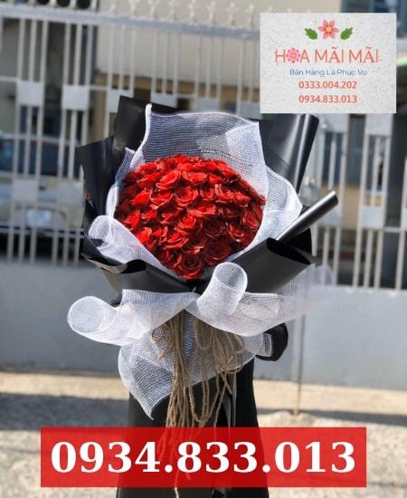 Cắm hoa sinh nhật theo mẫu Đà Nẵng