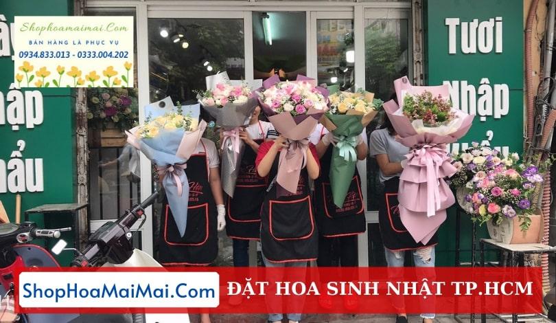 Giao hoa sinh nhật tận nơi tại TP HCM
