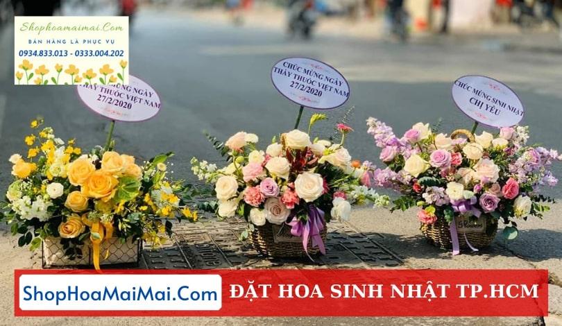 Cửa hàng hoa sinh nhật TPHCM