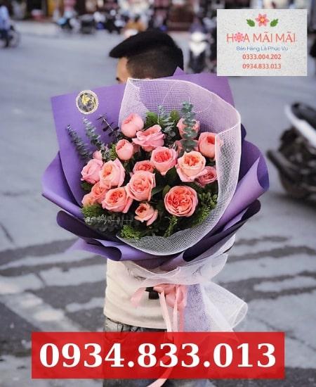 Cắm hoa sinh nhật theo yêu cầu TP.HCM