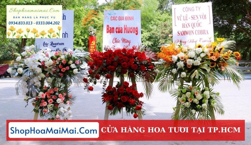 Cửa hàng hoa khai trương TPHCM
