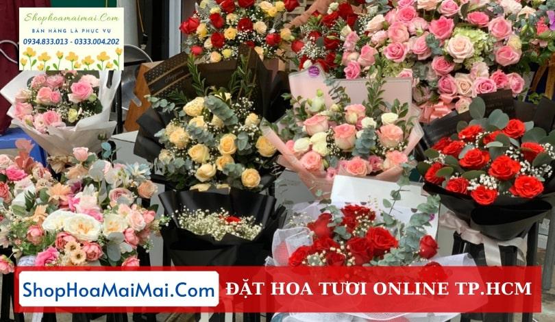 Cửa hàng hoa tươi tại TP.HCM