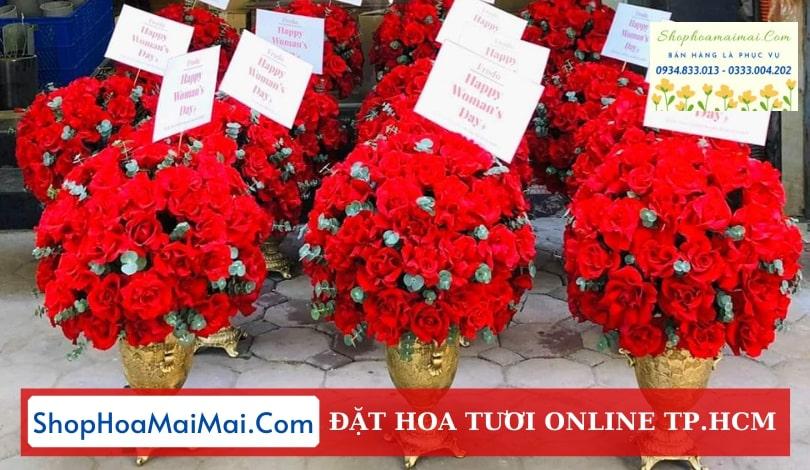 Tiệm hoa tươi uy tín TPHCM