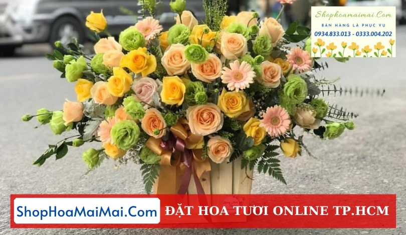 Tặng hoa tận nơi tại TPHCM