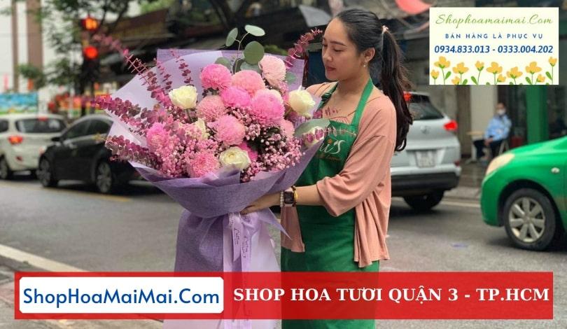 Shop hoa chất lượng Quận 3 TP.HCM