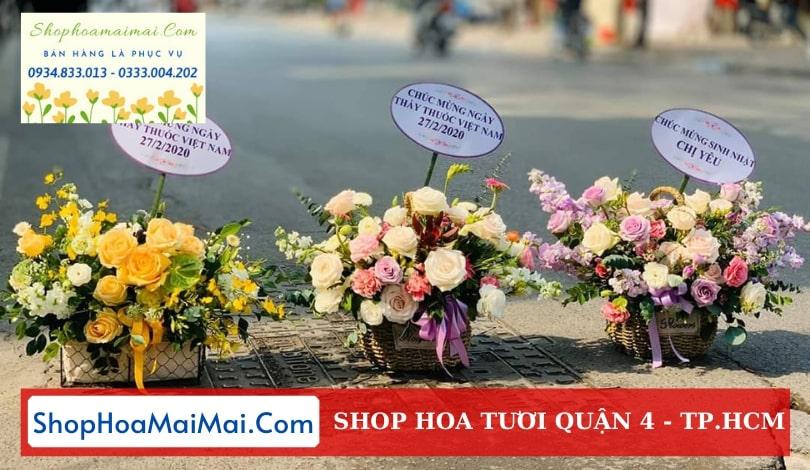 Cửa hàng hoa Quận 4 TP.HCM