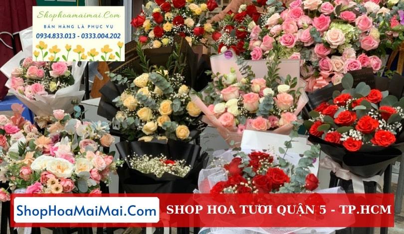 Shop hoa tươi Quận 5 TP.HCM