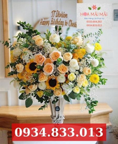 Mẫu hoa sinh nhật đẹp Quận 5