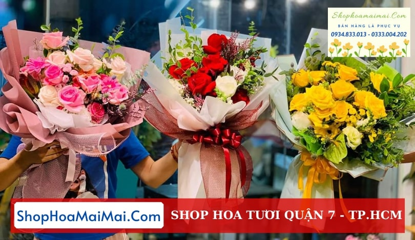 Shop hoa tươi Quận 7 TPHCM