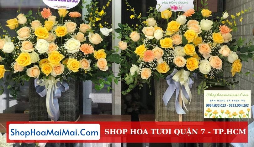 Cửa hàng hoa tươi Quận 7 TP.HCM