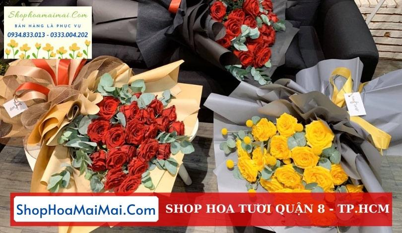 Shop hoa tươi Quận 8 TP.HCM