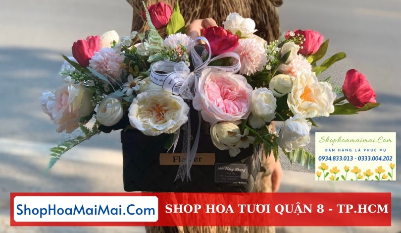 Đặt hoa tươi online Quận 8
