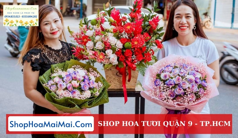 Cửa hàng hoa tươi Quận 9