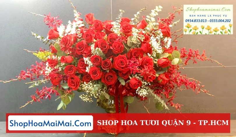 Tiệm hoa tươi chất lượng Quận 9