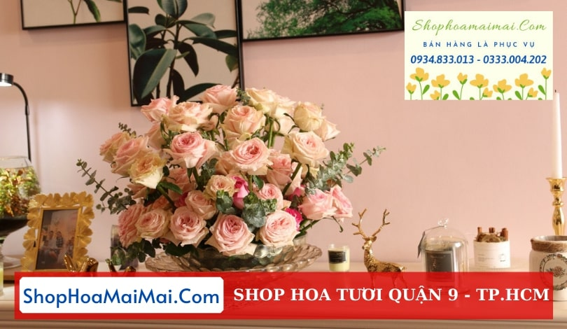 Mua hoa tươi online Quận 9