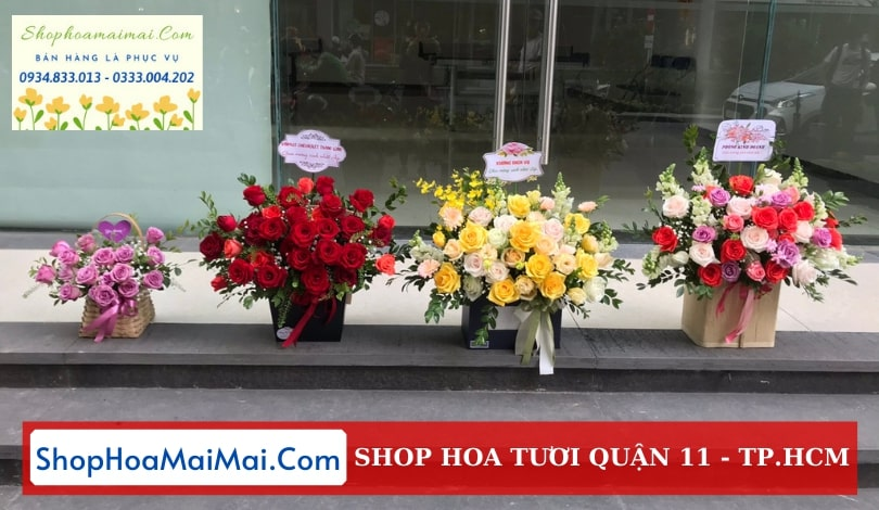 Cửa hàng hoa tươi Quận 11