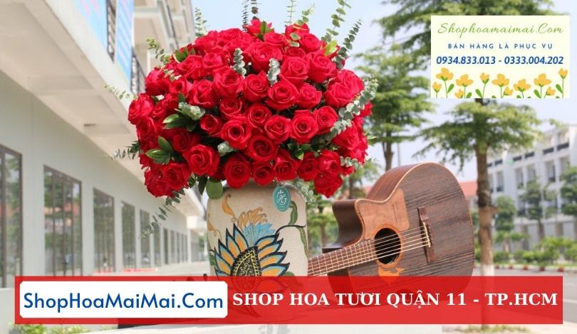 Đặt hoa sinh nhật online Quận 11