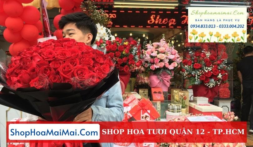 Shop hoa uy tín Quận 12 TP.HCM