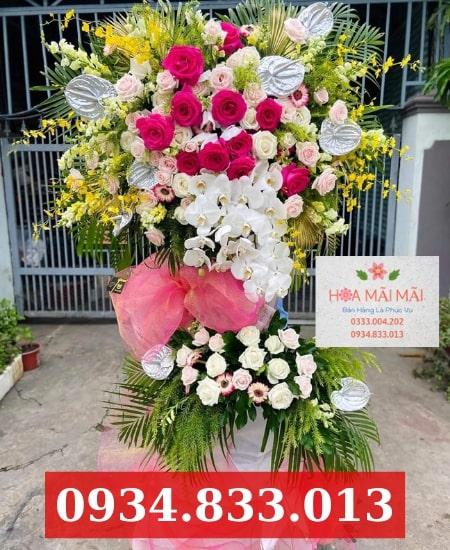Cửa hàng hoa khai trương Quận 12