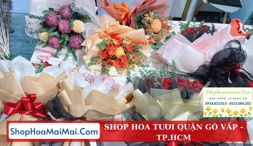 Cửa hàng hoa quận Gò Vấp