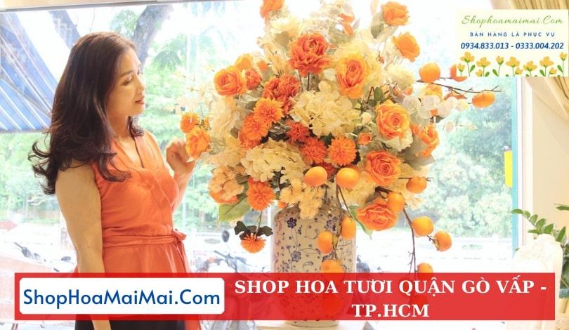Mua hoa tươi online quận Gò Vấp